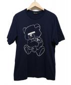 UNDERCOVER(アンダーカバー)の古着「NEU BEAR Tシャツ」|ネイビー