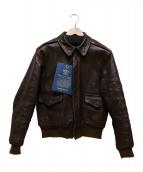 THE REAL McCOYS(ザ・リアル・マッコイズ)の古着「A-2レザージャケット」|ブラウン