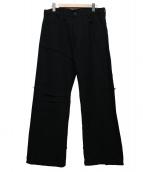 Y's for men(ワイズフォーメン)の古着「裾ヒモボタンフライウールパンツ」