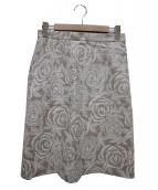 KEITA MARUYAMA(ケイタマルヤマ)の古着「リネンスカート」|ベージュ