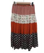 tsumori chisato(ツモリチサト)の古着「総シルクギャザースカート」
