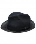 BORSALINO(ボルサリーノ)の古着「リネンハット」|ブラック