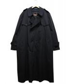 CHAPS RALPH LAUREN(チャップスラルフローレン)の古着「ライナー付トレンチコート」|ブラック