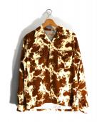 STYLE EYES(スタイルアイズ)の古着「フランネルスポーツシャツ」|ブラウン