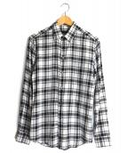 GIVENCHY(ジバンシー)の古着「チェックシャツ」