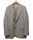 LOEWE(ロエベ)の古着「ウールモヘアテーラードジャケット」|ベージュ