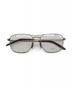 OLIVER PEOPLES(オリバーピープル)の古着「眼鏡(パイロットグラス)」|ゴールド