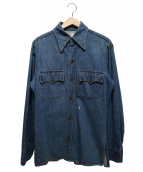 LEVI'S(リーバイス)の古着「ヴィンテージウエスタンデニムシャツ」|インディゴ