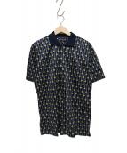 CELINE(セリーヌ)の古着「貝柄ポロシャツ」 ネイビー