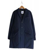 CAPE HEIGHTS(ケープハイツ)の古着「ダウンチェスターコート」|ネイビー