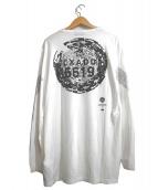STONE ISLAND(ストーンアイランド)の古着「ロングスリーブカットソー」 ホワイト