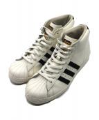 adidas(アディダス)の古着「ハイカットスニーカー」|ホワイト