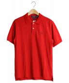 POLO RALPH LAUREN(ポロラルフローレン)の古着「ポロシャツ」|レッド