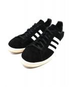 adidas(アディダス)の古着「スウェードスニーカー」|ブラック