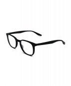 BARTON PERREIRA(バートンペレイラ)の古着「伊達眼鏡」|ブラック