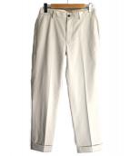 Brooks Brothers(ブルックスブラザーズ)の古着「センタープレスパンツ」|アイボリー