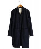 RINEN(リネン)の古着「チェスターコート」|ネイビー
