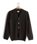 RINEN(リネン)の古着「カーディガン」|ブラウン