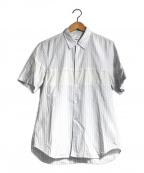 COMME des GARCONS SHIRT()の古着「ストライプシャツ」 ブルー