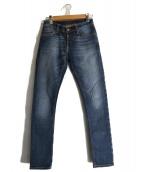 NUDIE JEANS(ヌーディジーンズ)の古着「スキニーデニムパンツ」|インディゴ
