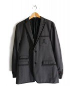 LOVELESS(ラブレス)の古着「テーラードジャケット」|グレー