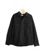 H.R.MARKET(ハリウッドランチマーケッド)の古着「ミリタリージャケット」|ブラック