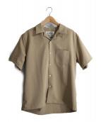 janis&co(ジャニスアンドカンパニー)の古着「オープンカラーシャツ」 ベージュ