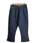 gourmet jeans.(グルメジーンズ)の古着「TYPE-3 LEANデニムパンツ」|インディゴ