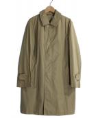 ORCIVAL(オーチバル)の古着「ステンカラータフタコート」 ブラウン