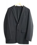 DESCENTE PAUSE(デサントポーズ)の古着「ストレッチパッカブルジャケット」|ブラック