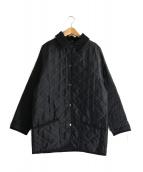 MACKINTOSH(マッキントッシュ)の古着「キルティングコート」|ネイビー
