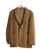 BROWN by 2-tacs(ブラウン バイ ツータックス)の古着「ショールカラージャケット」|ブラウン
