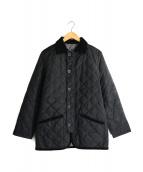 MACKINTOSH PHILOSPHY(マッキントッシュ フィロソフィー)の古着「リバーシブルキルティングジャケット」|ブラック×グレー