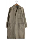 tricot COMME des GARCONS(トリコ コムデギャルソン)の古着「ショップコート」|ベージュ