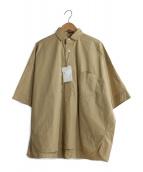 TICCA(ティッカ)の古着「プルオーバービッグシャツ」|ベージュ