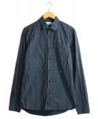 STONE ISLAND(ストーンアイランド)の古着「ボタンダウンシャツ」|ブルー