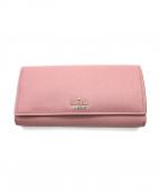 Kate Spade(ケイトスペード)の古着「長財布」|ピンク