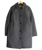 MACKINTOSH LONDON(マッキントッシュ ロンドン)の古着「ウールキルティングコート」 グレー
