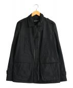 NEIL BARRETT(ニールバレット)の古着「ジップデザインジャケット」|ブラック