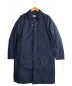 NANGA(ナンガ)の古着「オーロラステンカラーダウンコート」|ネイビー