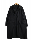 TEATORA(テアトラ)の古着「Device Coat Packable」|ブラック