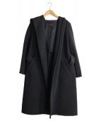 Demi-Luxe BEAMS(デミルクスビームス)の古着「ウールカシミヤフーデッドコート」|グレー