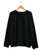 オローネ(オローネ)の古着「コクーンカーディガン」|ブラック