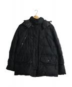 DUVETICA(デュベティカ)の古着「フード付ダウンジャケット」|ブラック