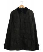 COMME des GARCONS HOMME(コムデギャルソンオム)の古着「ミリタリージャケット」|グリーン