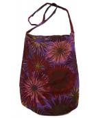 NAISSANCE(ネサーンス)の古着「flower pattern sacoche」|パープル