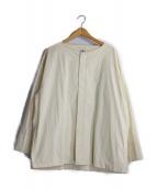 SASQUATCHfabrix.(ザスクワッチファブリックス)の古着「ノーカラーシャツジャケット」|キナリ