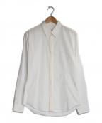 YOHJI YAMAMOTO COSTUME DHOMME(ヨウジヤマモトコスチュームドオム)の古着「ツイストシャツ」|ホワイト