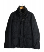 PEUTEREY(ビューテリ)の古着「ファー襟ダウンジャケット」|ブラック