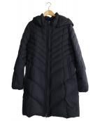 LAUTRE AMONT(ロートレアモン)の古着「ナイロンストレッチダウンコート」|ブラック